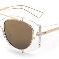 Thick Frame Men Sun Glasses