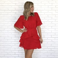 Light Up The Room Red Dress