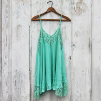 The Linden Layering Tunic in Mint