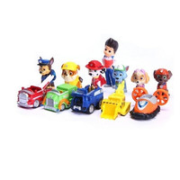 12pcs/lot PAW Patrol Action Figure PVC Doll Model Toy (Color: Multicolor)