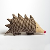 Mabel Hedgehog Lambswool Plush Made to order by saracarr on Etsy