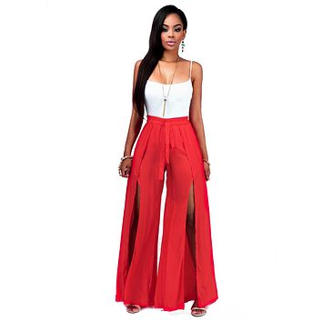Women Wide Legged Rompers Womens Jumpsuit Spaghetti Strap Backless Tops and Wide Leg Club Jumpsuit One Piece Overalls Rompers