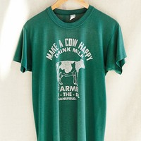 Vintage Happy Cow Tee - Urban Outfitters