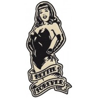 BETTIE PAGE BETTIE FOREVER PATCH