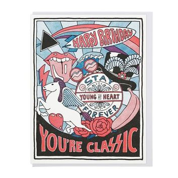 """You're Classic"" Birthday Card"