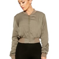 Laced In Velvet Bomber Jacket - Outerwear - Womens