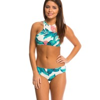 Billabong Tropical Daze High Neck Bikini Top at SwimOutlet.com - Free Shipping