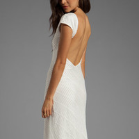 Lovers + Friends Vanity Fair Dress in White Stretch from REVOLVEclothing.com