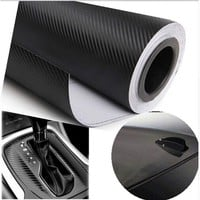 KUNFINE Car Styling Waterproof Car Sticker 127cmx30cm 3D Carbon Fiber Vinyl Film Car wrap DIY Car Tuning Part Sticker