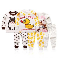 NEW boys nightwear girls family christmas pajamas cartoon kids pajama sets,children sleepwear toddler baby pyjamas 1t-5t