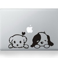 Dog Macbook Decals Skin Stickers Mac Pro Decal Mac Air for Apple Macbook 13 15 Inch