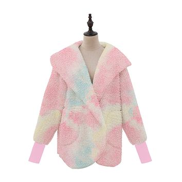 Sherpa Body Wrap/Cardigan for Women Hoodie (available in 7 colors)