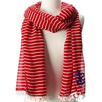 Sperry Top-Sider Breton Pareo w/ Anchor Detail Ribbon Red - 6pm.com
