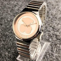 TOUS Stylish Women Chic Simple Quartz Classic Wristwatch Watches