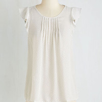 Mid-length Short Sleeves Yes Woman Top in White