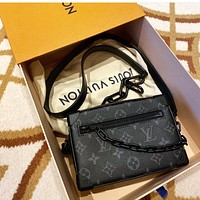 LV MINI SOFT TRUNK Simple Women's Handbag Shoulder Bag Crossbody Bag