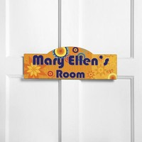 Personalized Kids Room Sign - Sunny Days