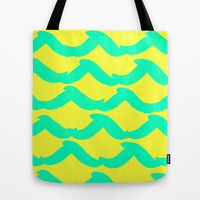 WAYFARER- SURFER Tote Bag by Rebecca Allen