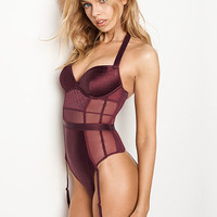 Quilted Satin Teddy - Very Sexy - Victoria's Secret