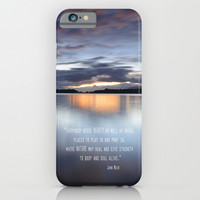 """Everybody needs beauty"" iPhone & iPod Case by Guido Montañés"