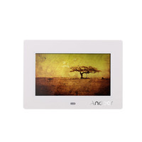 """Andoer 7"""" HD TFT-LCD Digital Photo Frame with Slideshow Alarm Clock MP3 MP4 Movie Player with Remote Controller Desktop Stand"""