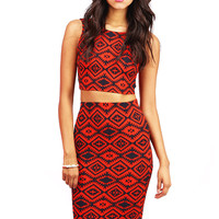 Western Beaute Two Piece | Trendy Clothes at Pink Ice