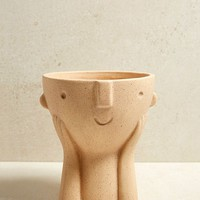 Hector Face Plant Pot | Urban Outfitters
