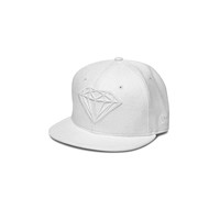 Brilliant Fitted New Era Hat in White