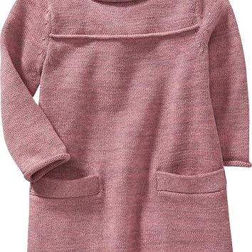 Old Navy Pocket Sweater Dress For Baby
