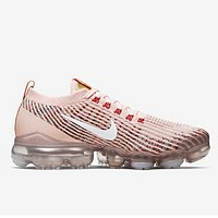 Nike Air Vapormax New fashion hook couple sports and leisure shoes Pink