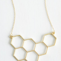 Minimal Nectar in Line Necklace by ModCloth