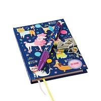 Lockable Notebook with Scented Pen: Pets