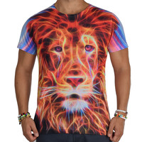 Electro Lion Rave T-Shirt