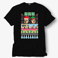 Breaking Bad Christmas - Ugly Christmas Shirt, Hot product on USA, Funny Shirt, Colour Black White Gray Blue Red