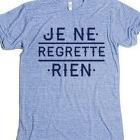 Athletic Blue T-Shirt   Cute French Shirts