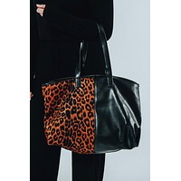 Tote Me Purse: Black/Multi