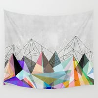 Colorflash 3 Wall Tapestry by Mareike Böhmer Graphics