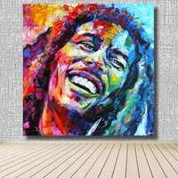 Bob Marley Portrait 5d diy diamond painting Needlework Crafts Full Diamond Embroidery Icons Color painting Cross-stitch Mosaic