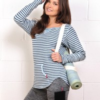 Hard Tail Nautical Stripe Sweatshirt