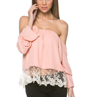 Feminine Off Shoulder Top (more colors)