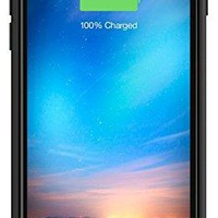 mophie juice pack reserve - Lightweight and Compact Mobile Protective Battery Case for iPhone 6/6s - Black