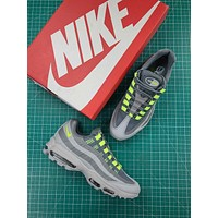 Nike Air Max 95 Tt Wolf Grey Sport Running Shoes 40-45
