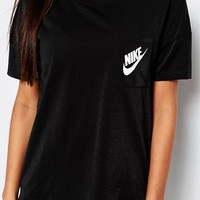 Nike Small Logo Oversized Signal T-Shirt at asos.com