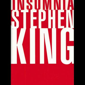 Insomnia by Stephen King (First Edition)