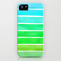 Ocean Green iPhone & iPod Case by Sara Eshak