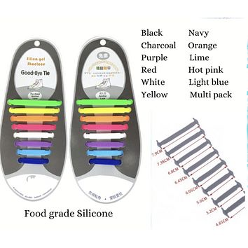 READY TO SHIP * Silicone Shoe Laces