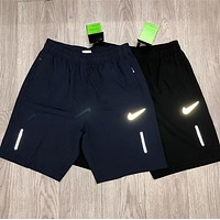 NIKE Fashion Men Casual Reflective Logo Sports Running Shorts
