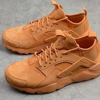 Nike Air Huarache 4 Wheat Running Shoes 829669 335