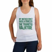 Mother Trained a Valkyrie Tank Top