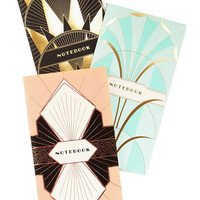 Chronicle Books Pastel What's on Deco? Notebook Set